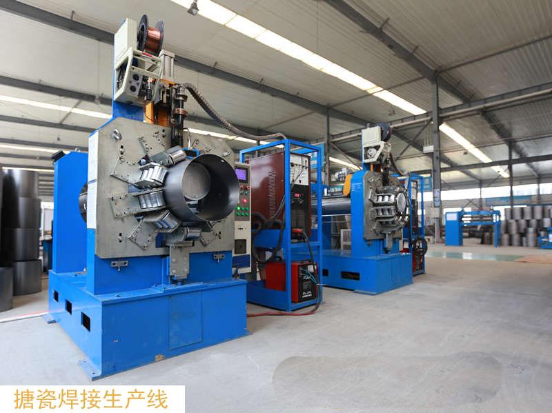 毫瓦特车间照片搪瓷焊接生产线2